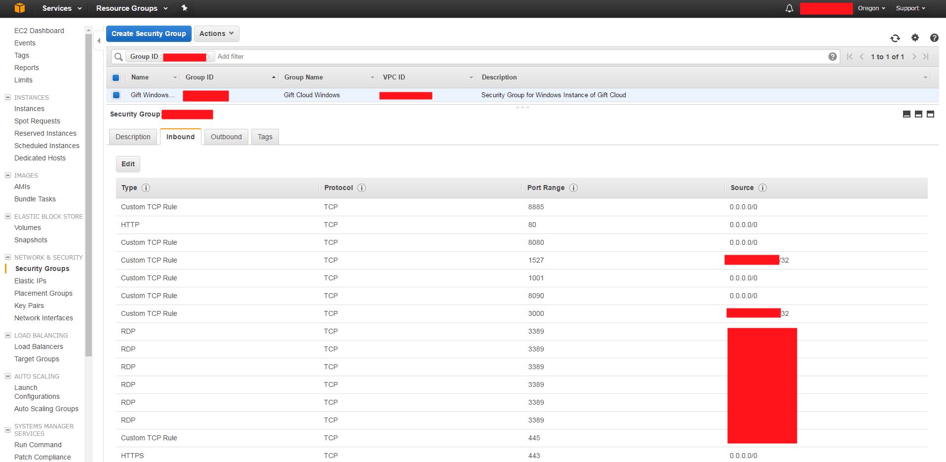 Deploying to AWS backup - GIFT - GIFT Portal